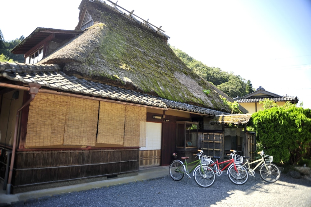 Property Entrance, Miyama Futon & Breakfast Thatched Cottages