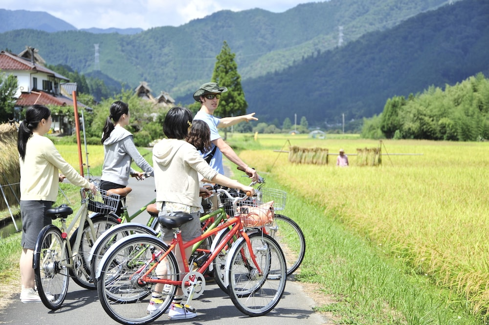 Bicycling, Miyama Futon & Breakfast Thatched Cottages