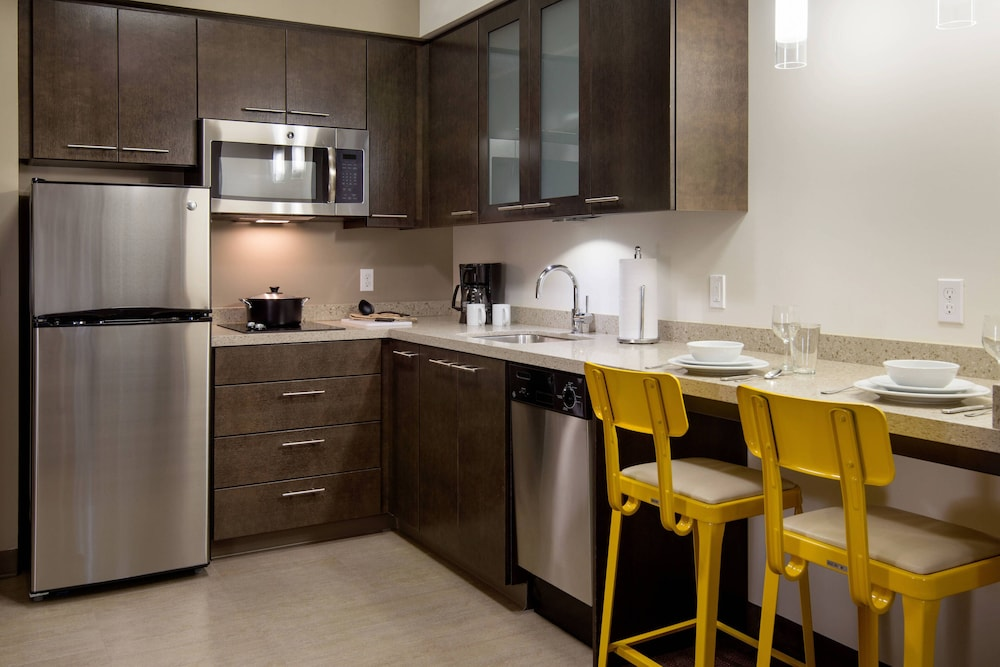 Private Kitchen, Residence Inn Portland Downtown/Pearl District