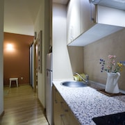 室内の簡易キッチン