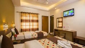 15 개의 침실, 객실 내 금고, 각각 다른 스타일의 객실, 각각 다르게 가구가 비치된 객실