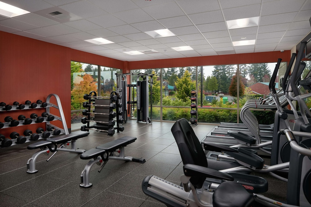 Fitness Facility, Hampton Inn & Suites Portland/Vancouver