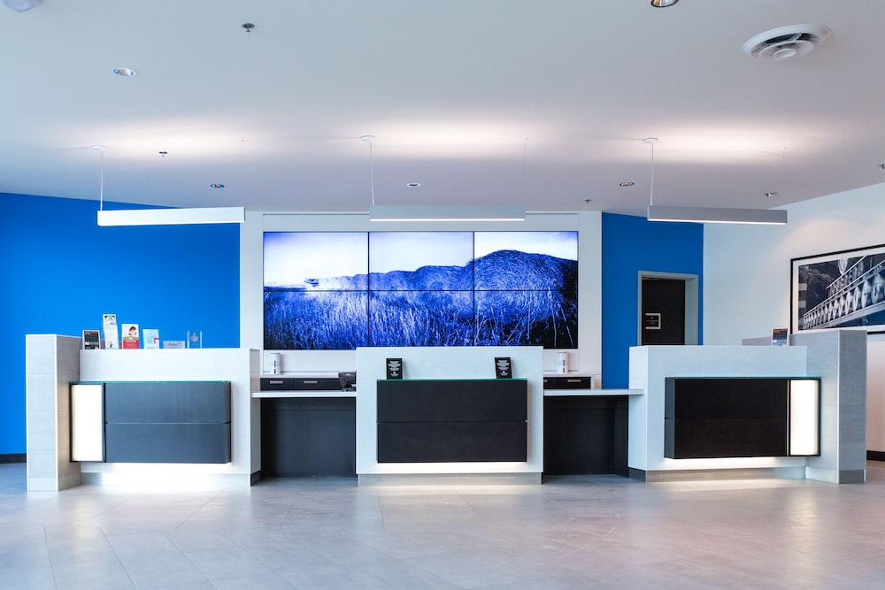 Check-in/Check-out Kiosk, The Grand Winnipeg Airport Hotel by Lakeview