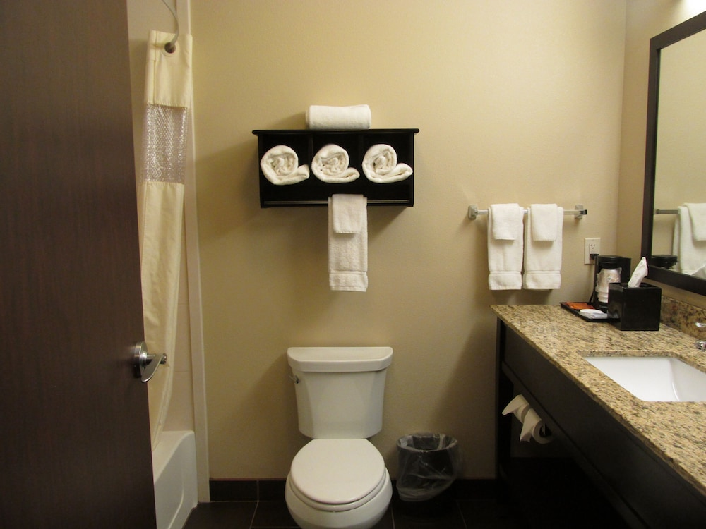 Bathroom, La Quinta Inn & Suites by Wyndham Sioux Falls