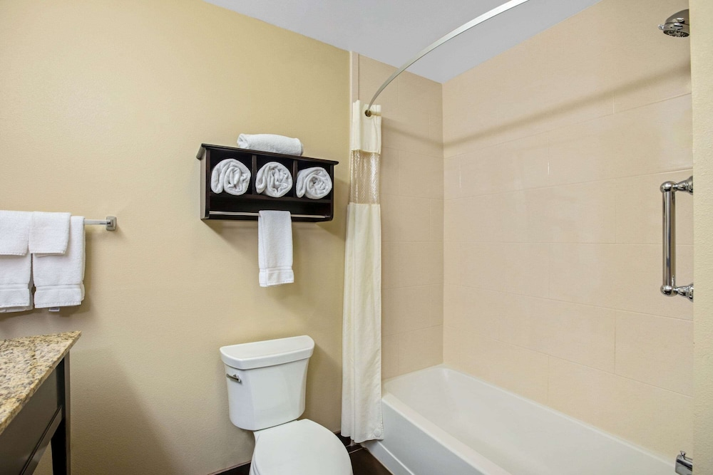 Accessible bathroom, La Quinta Inn & Suites by Wyndham Sioux Falls