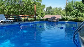 Indoor pool, 4 outdoor pools, open 9 AM to 10 PM, sun loungers