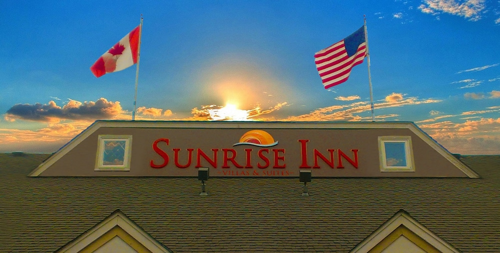 Exterior detail, Sunrise Inn Villas and Suites
