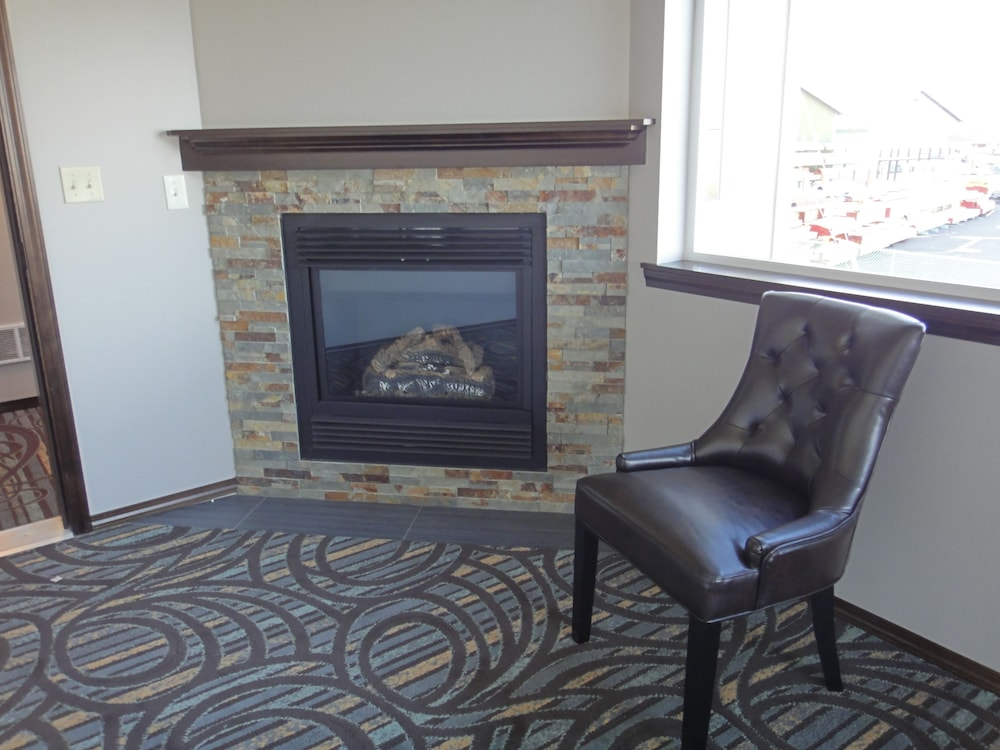 Fireplace, Sunrise Inn Villas and Suites