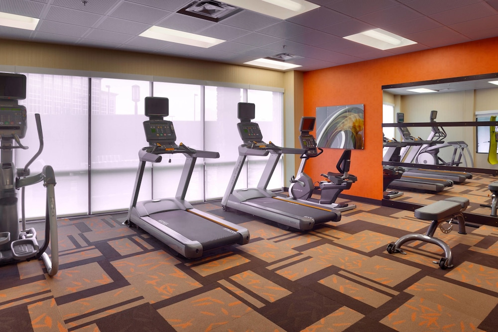 Fitness Facility, Courtyard Lehi at Thanksgiving Point