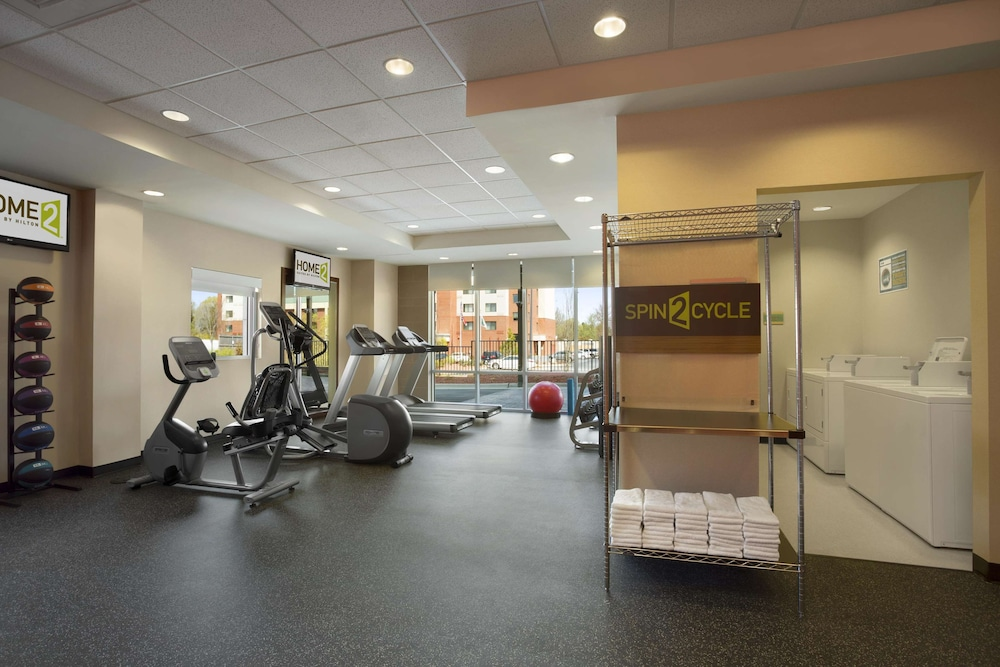 Fitness Facility, Home2 Suites by Hilton Greensboro Airport, NC