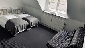 Barnesenger, wi-fi (inkludert) og sengetøy