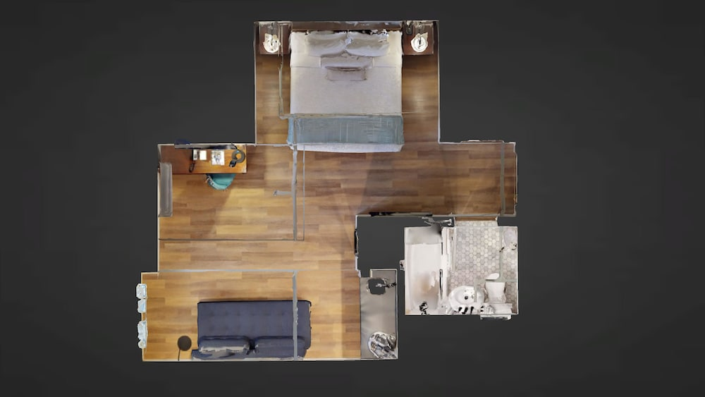 Floor plan, Hotel Petaluma, Ascend Hotel Collection