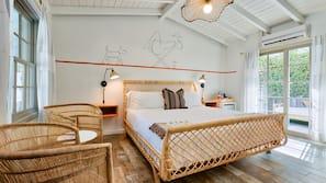 Premium bedding, down comforters, minibar, blackout drapes