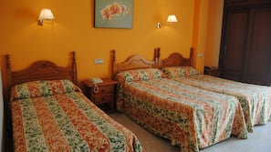 In-room safe, blackout curtains, free cots/infant beds, rollaway beds