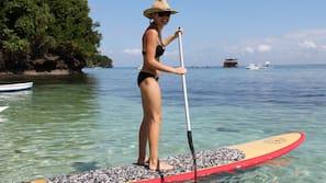 Beach nearby, kayaking