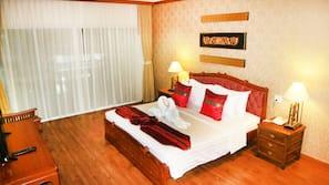 1 ห้องนอน, เครื่องนอนป้องกันสารก่อภูมิแพ้, ตู้นิรภัยในห้องพัก