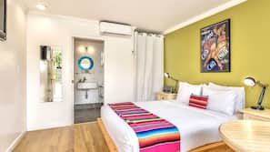 Iron/ironing board, rollaway beds, free WiFi, bed sheets