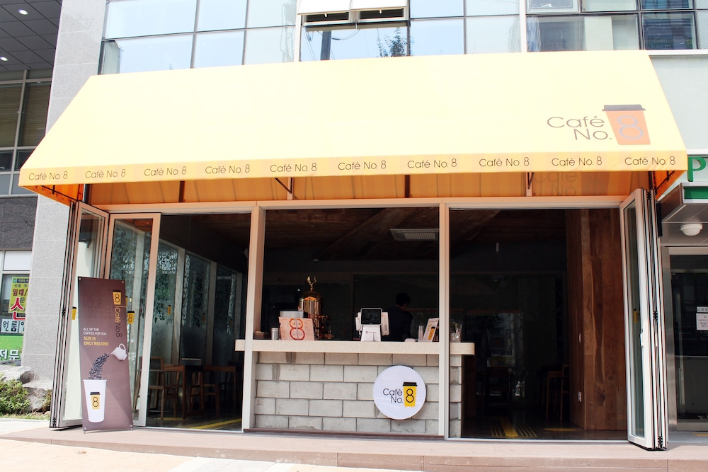 Cafe, Shinchon Ever8 Serviced Residence