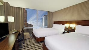 Premium bedding, pillow-top beds, in-room safe, soundproofing