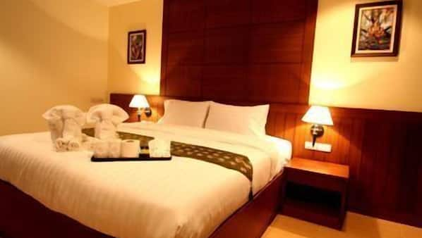 In-room safe, blackout curtains, rollaway beds, free WiFi