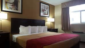 1 bedroom, desk, cribs/infant beds, rollaway beds