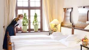 Hochwertige Bettwaren, Minibars (mit einigen kostenlosen Artikeln)