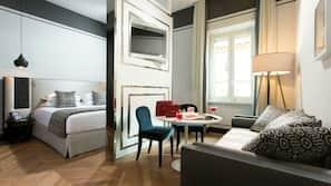 1 soverom, sengetøy av topp kvalitet, memory foam-senger og minibar