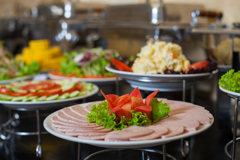 Buffet, Helios Legend Hotel