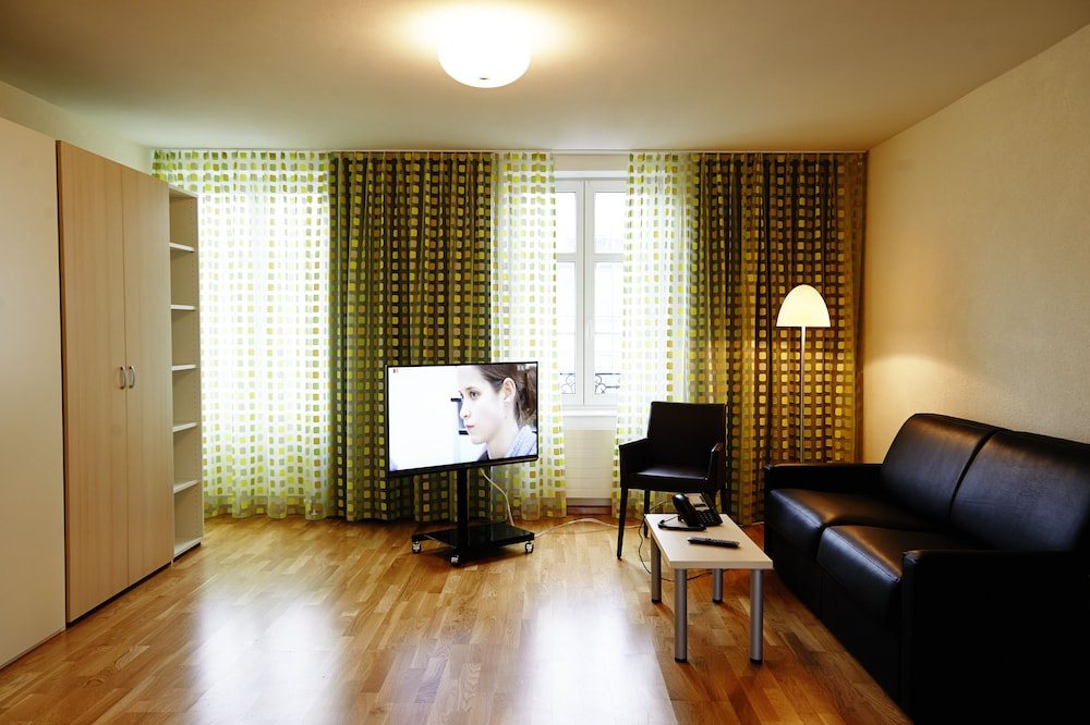 Living Room, Residence Apartments by Hotel du Commerce