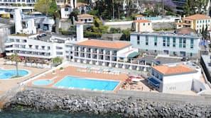 Private beach nearby, beach umbrellas, beach towels, snorkelling