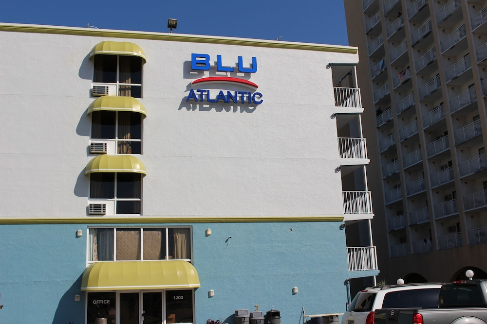 Front of Property, Blu Atlantic Oceanfront Hotel & Suites