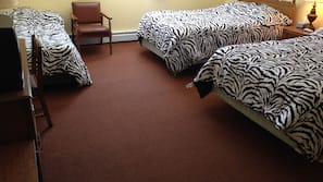 Rollaway beds, free WiFi, linens, wheelchair access