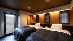 7 개의 침실, 고급 침구, 오리/거위털 이불, 필로우탑 침대