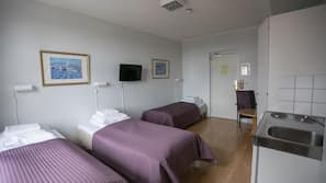 Free cribs/infant beds, free WiFi, linens, wheelchair access