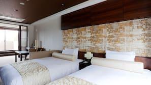 Hochwertige Bettwaren, Minibar, Zimmersafe, Bügeleisen/Bügelbrett