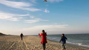 Tæt på stranden, badehåndklæder