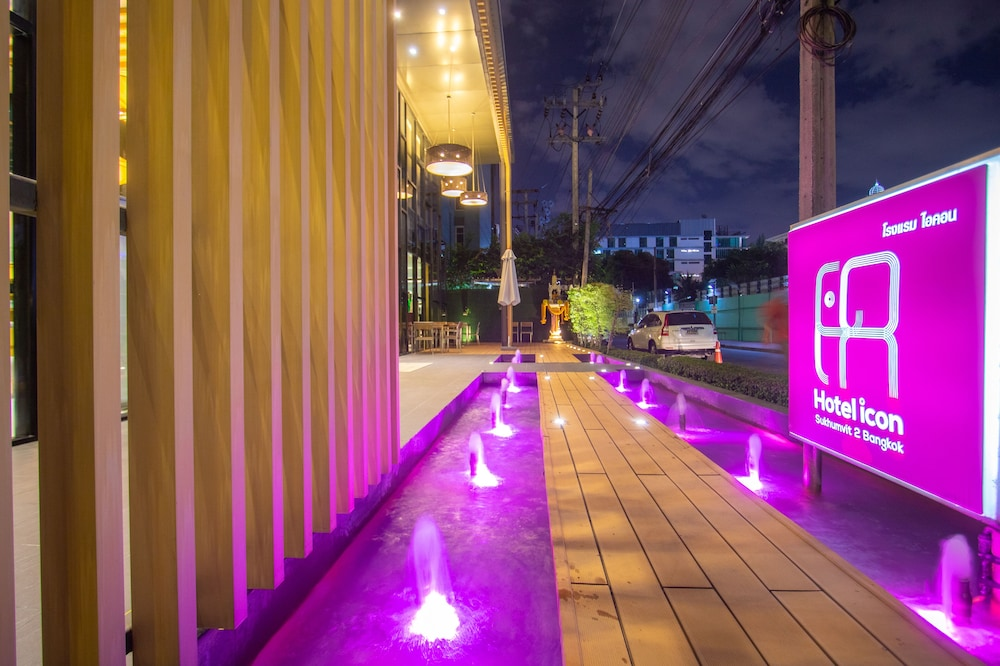 Front of Property - Evening/Night, Hotel Icon Bangkok Sukhumvit