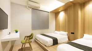 熨斗/熨衫板、免費 Wi-Fi、床單
