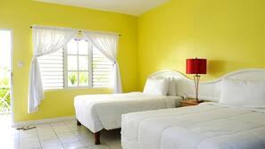 Caja fuerte, decoración individual, ropa de cama