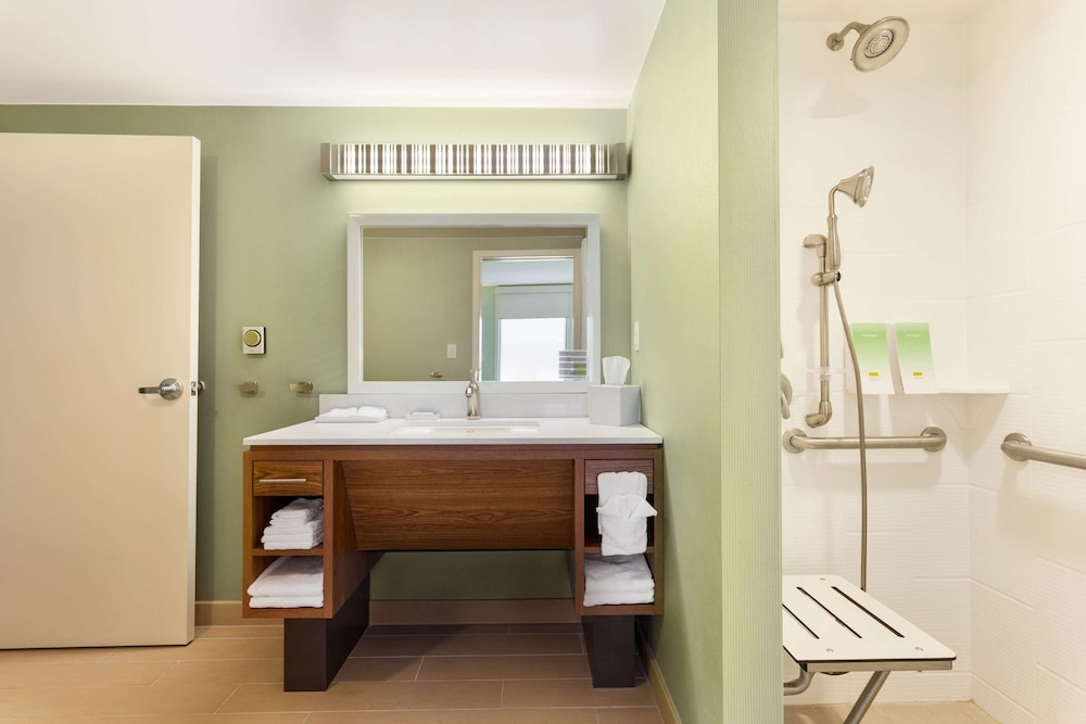 Bathroom, Home2 Suites by Hilton Fargo, ND