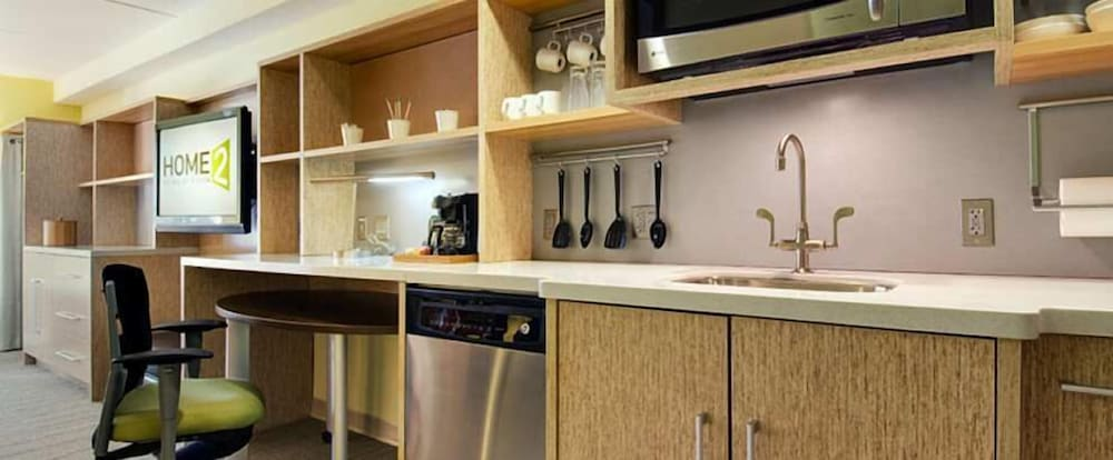 Private Kitchenette, Home2 Suites by Hilton Fargo, ND