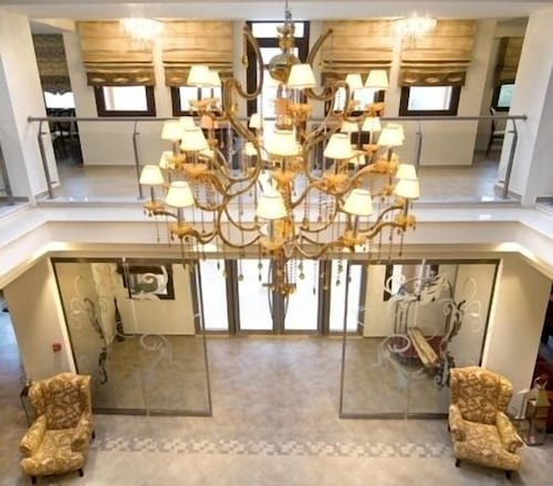 Interior Entrance, Mouzaki Palace Hotel & Spa