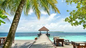Private beach, scuba diving, snorkeling, windsurfing