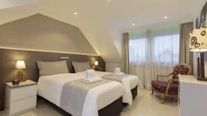 Individuell dekoriert, individuell eingerichtet, schallisolierte Zimmer