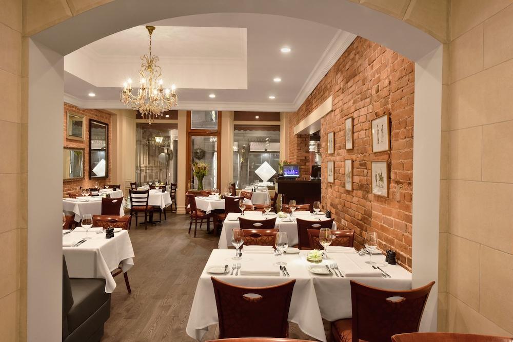 Hotel Bonaparte Montreal Restaurant