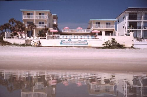 Sand Castle Motel In Daytona Beach