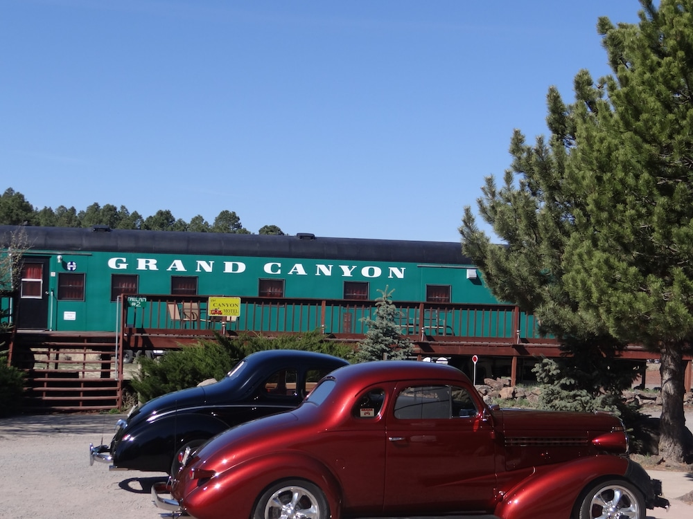Exterior detail, Canyon Motel and RV Park