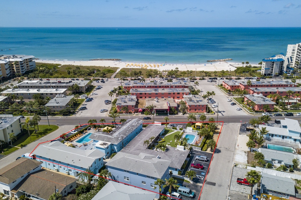Aerial View, St Pete Beach Suites