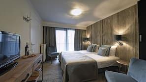 Een kluis op de kamer, extra bedden, gratis wifi
