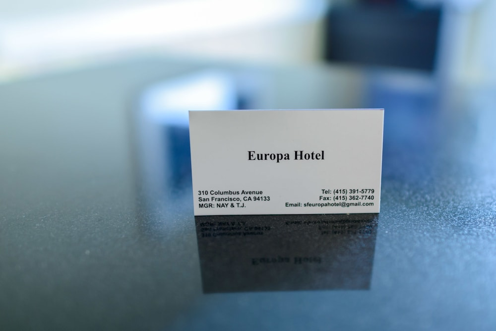 Concierge Desk, Europa Hotel